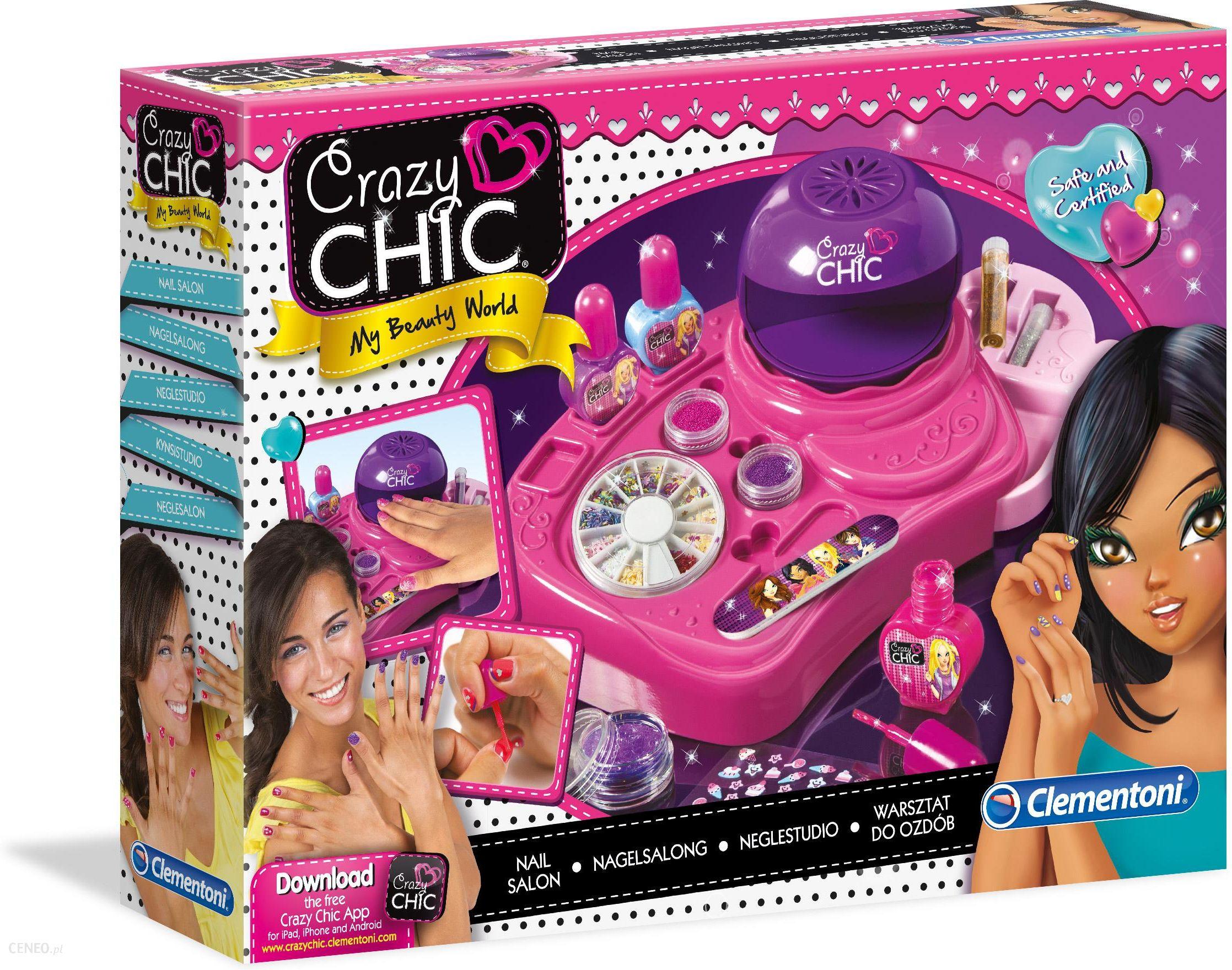 Clementoni Crazy Chic Zestaw Studio Paznokci New 78339 Ceny I