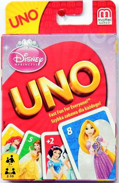 c0c28c61e Mattel Karty Uno Gra Karciana Disney Princess - Ceny i opinie - Ceneo.pl