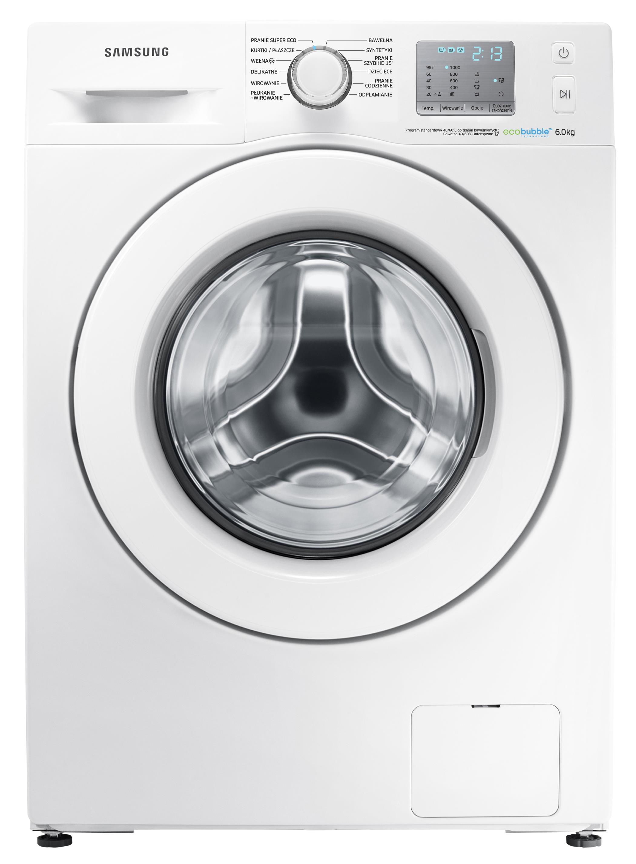 Samsung Eco Bubble Wf60f4efw0w