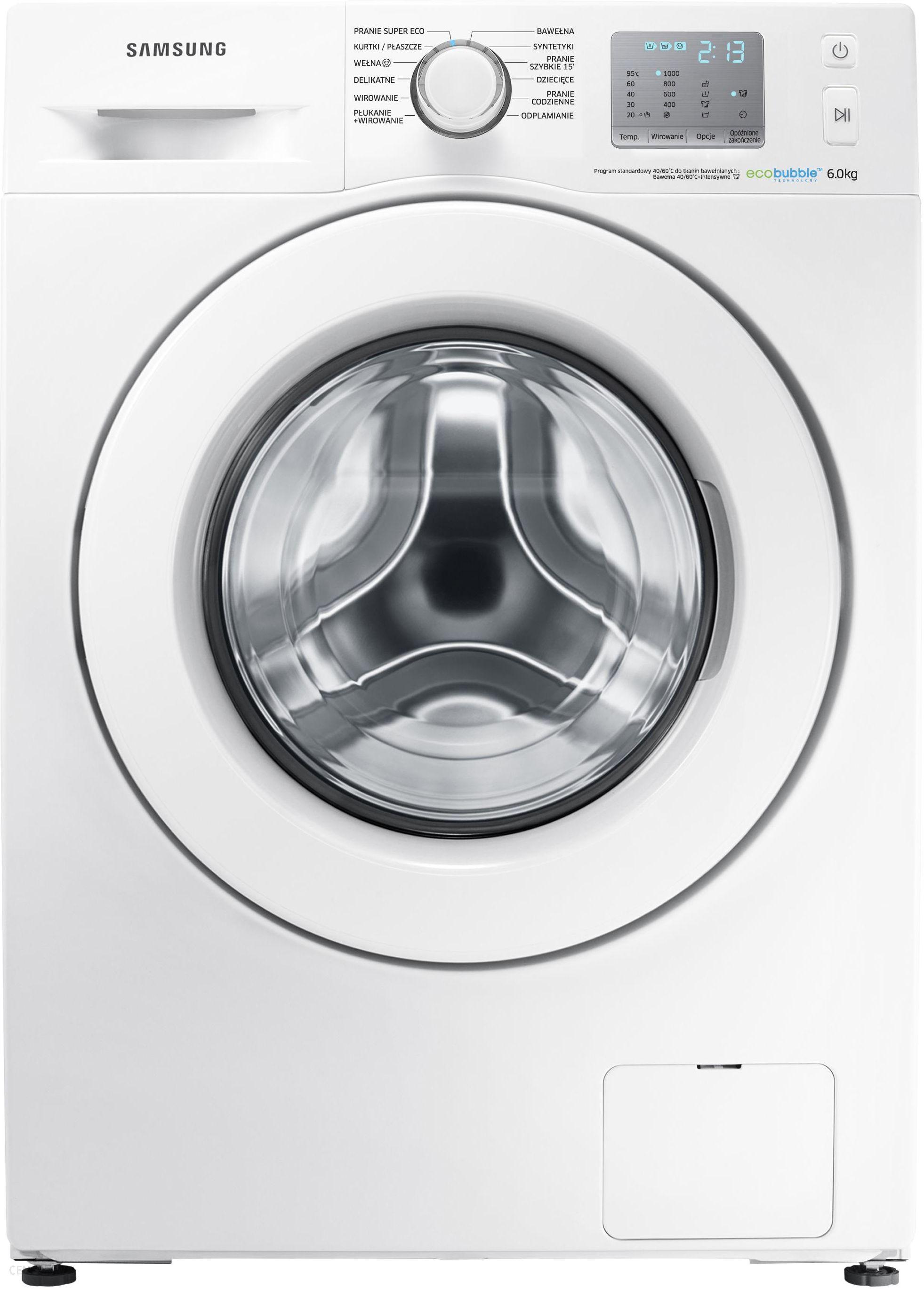 Pralka Samsung Eco Bubble WF60F4EFW0W