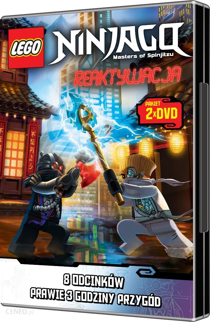 Lego Ninjago Reaktywacja Kolekcja Dvd Ceny I Opinie Ceneopl