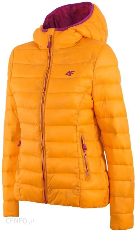 4f kurtka damska pomarańczowa