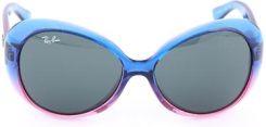 6af0a0ad85fe03 Ray Ban Dziecięce okulary przeciwsłoneczne w kolorze niebiesko-różowo- zielonym blue