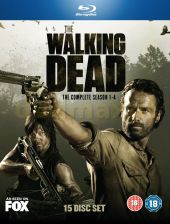 The Walking Dead: Seasons 1-4 (Żywe Trupy Sezon 1-4) [EN] (Blu-ray)