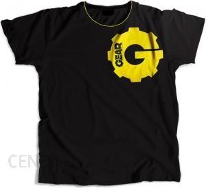 60c3a905f6af60 Gear T-Shirt Czarny Koszulka - Ceny i opinie - Ceneo.pl