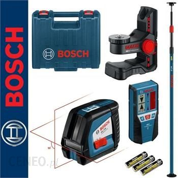Poziomica Bosch Gll 2 50 Odbiornik Lr2 Uchwyt Bm 1 Statyw Rozporowy Bt 350 Zestaw Opinie I Ceny Na Ceneo Pl