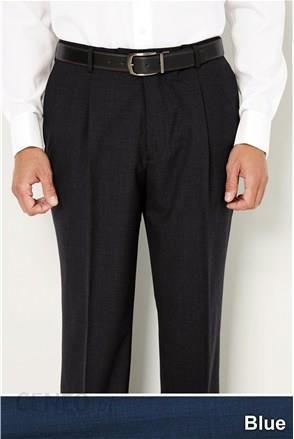 6435386a7ca65 Next spodnie męskie garniturowe prosty krój niebieskie 14759854 -  zdjęcie 1