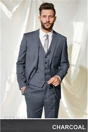 d92e1f024f697 Next garnitur męski czarny spodnie: regularny krój 14918454 - zdjęcie 1