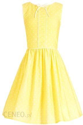 11860c3cf5b754 Next sukienka żółta (3-14 lat) 14919950 - Ceny i opinie - Ceneo.pl