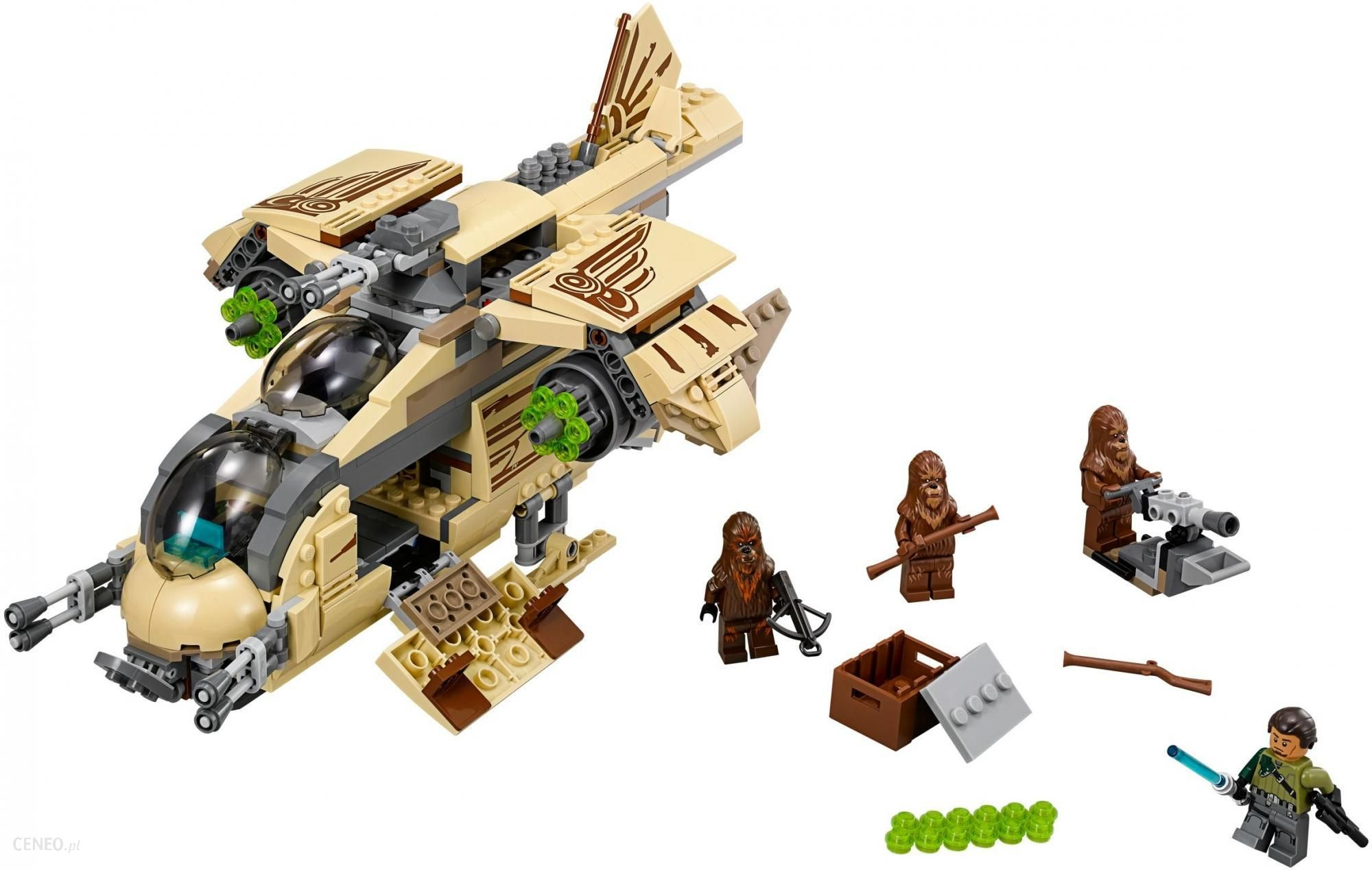 Klocki Lego Star Wars Okręt Bojowy Wookiee 75084 Ceny I Opinie