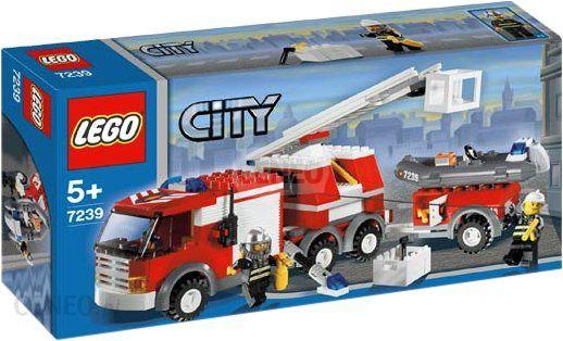 Klocki Lego City World Wóz Strażacki 7239 Ceny I Opinie Ceneopl