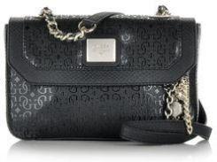 2529865bc1151 Guess mała torebka na ramię z logo czarna - Ceny i opinie - Ceneo.pl