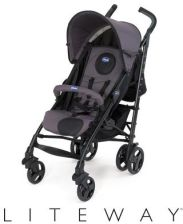 Chicco Lite Way Anthracite Spacerowy