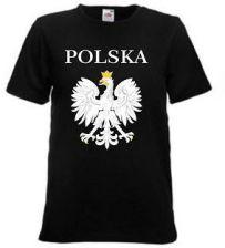 Koszulka Kibica Reprezentacji Polski czarna Ceny i opinie Ceneo.pl