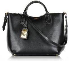 b973694160943 Ralph Lauren średnia torebka skórzana czarna - Ceny i opinie - Ceneo.pl