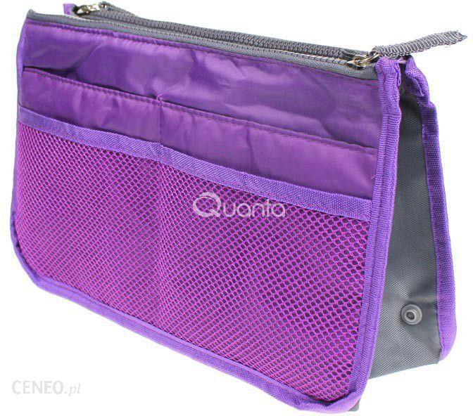 99538be234b14 Verona Kosmetyczka Fioletowa organizer do torebki - Opinie i ceny na ...