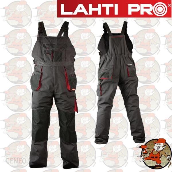 522c9913e4d28c Lahti Pro Lpsr02 Profesjonalne Spodnie Robocze Na Szelkach 267 Gram  Xxxl(60) - zdjęcie