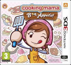 Cooking Mama Bon Appetit (Gra 3DS)
