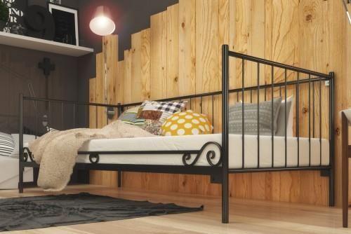 Lak System łóżko Metalowe 120x200 Wz3