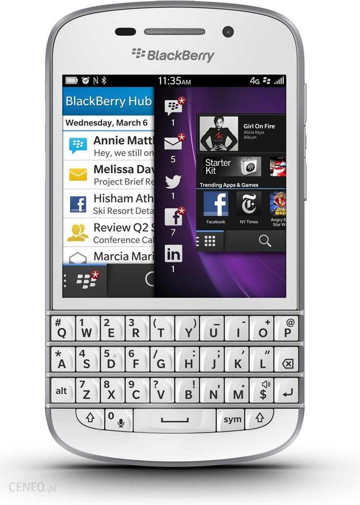 Blackberry Q20 Classic Biay Ceny I Opinie Na Black Smartfon Zdjcie 1