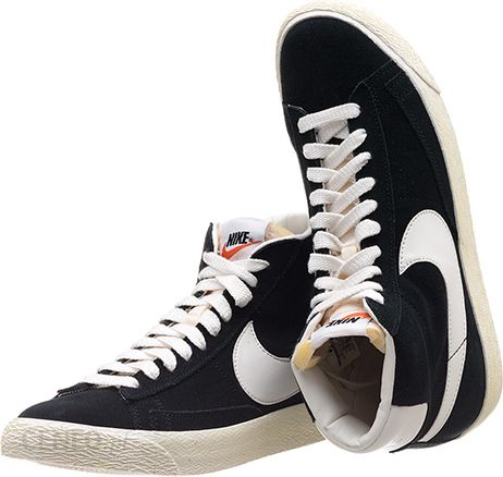 on sale 7ffdc c9b06 Nike Blazer High Vintage & Black (375722-001)
