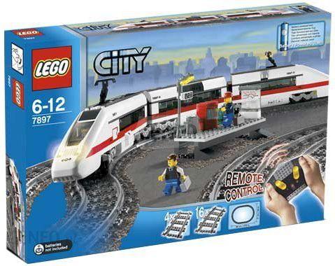 Klocki Lego City World Pociąg Pasażerski 7897 Ceny I Opinie Ceneopl