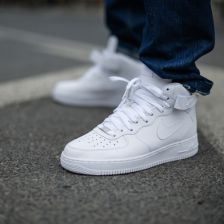 buty nike air force 1 mid 07 all white