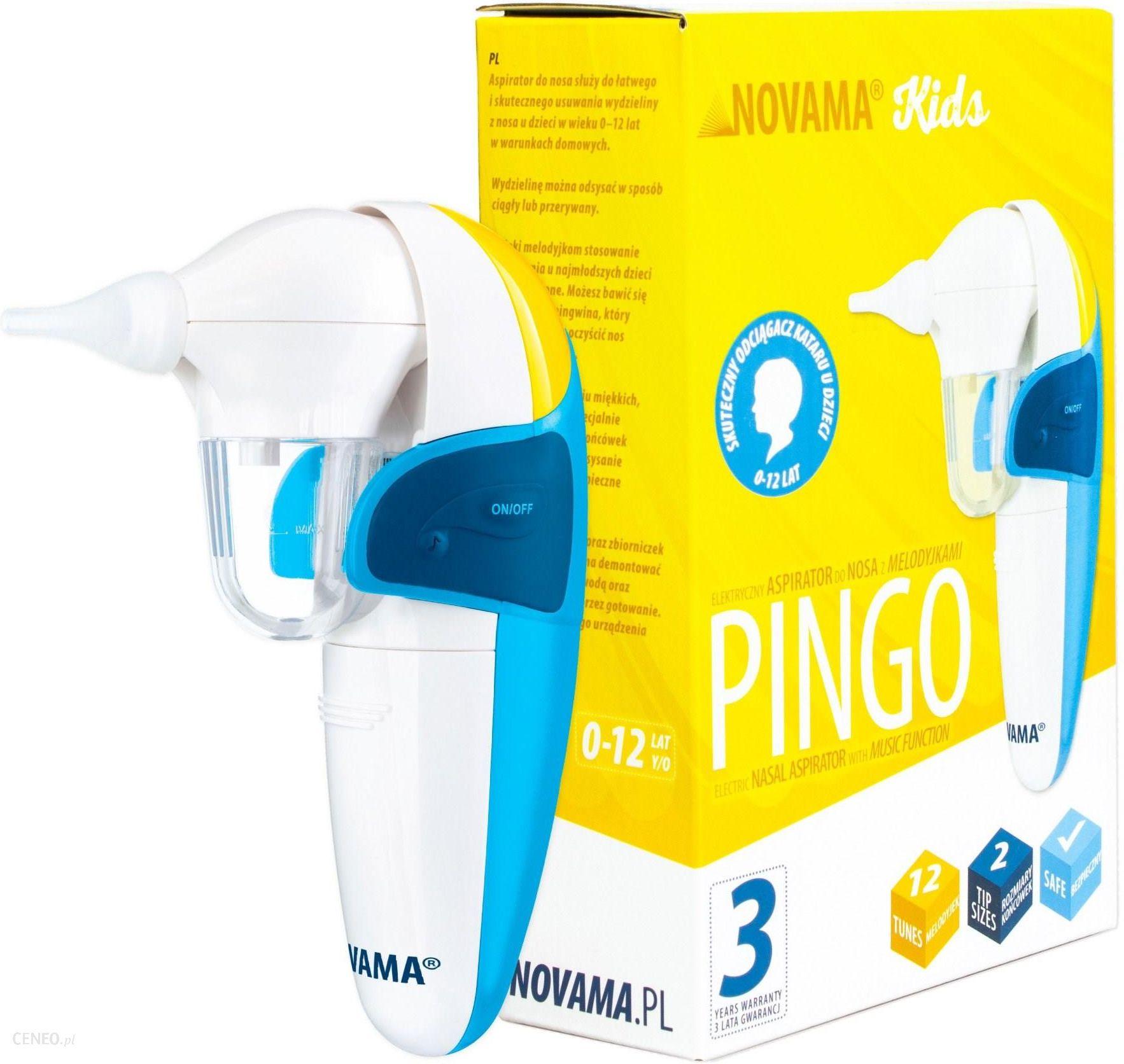 Novama Pingo Elektryczny Aspirator Do Nosa Z Melodyjkami 9072667