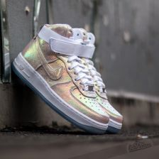 low priced 2df2e 1023a ... low premium qs pearl iridescent sneakers shoes 704517 100 c58bf b839d   where can i buy nike wmns air force 1 hi prm qs white metalic silver  iridescent