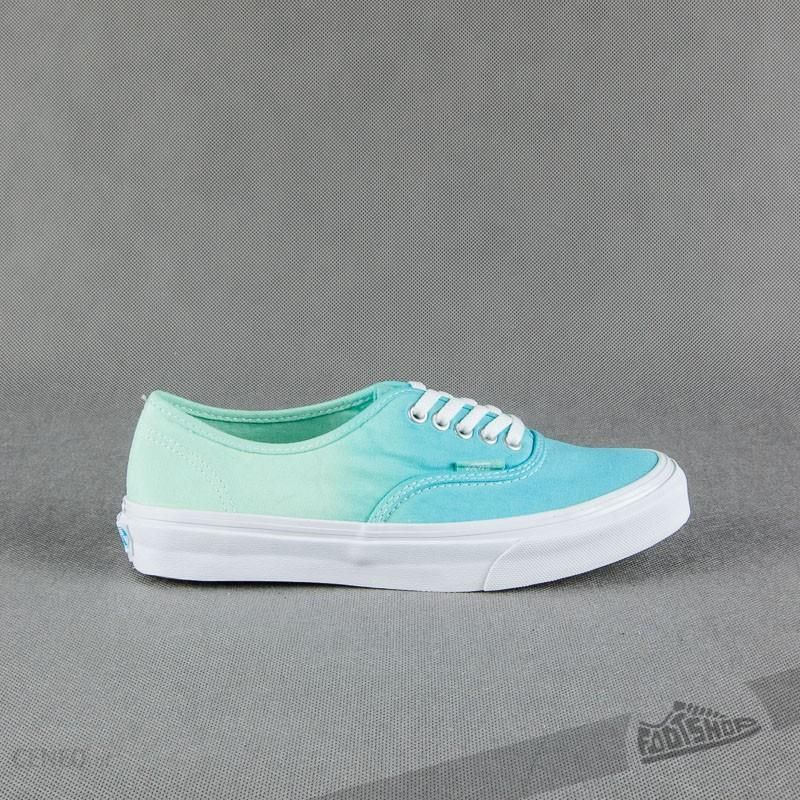 Boty Vans Authentic Slim (ombre) cloisonneicy green Ceny i opinie Ceneo.pl
