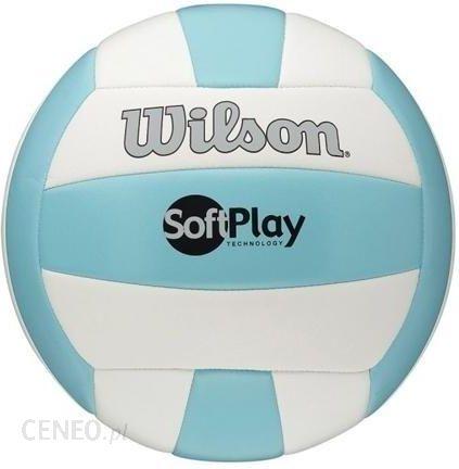 31877227233344 Piłka do siatkówki Wilson Soft Play WTH3501XBLU/WHI - Ceny i opinie ...