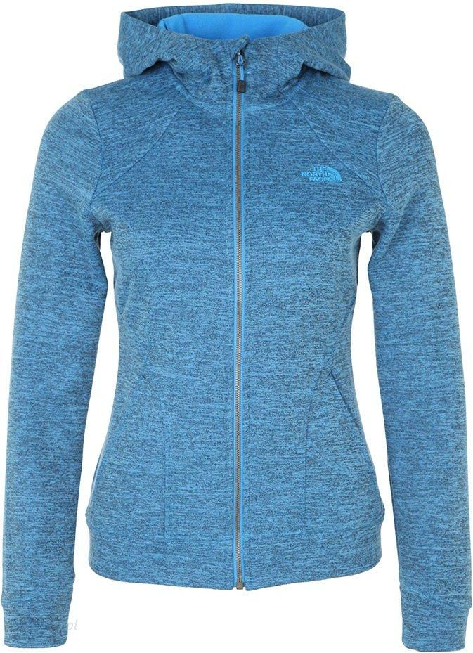 The North Face KUTUM Bluza rozpinana clear lake blue heather Ceny i opinie Ceneo.pl