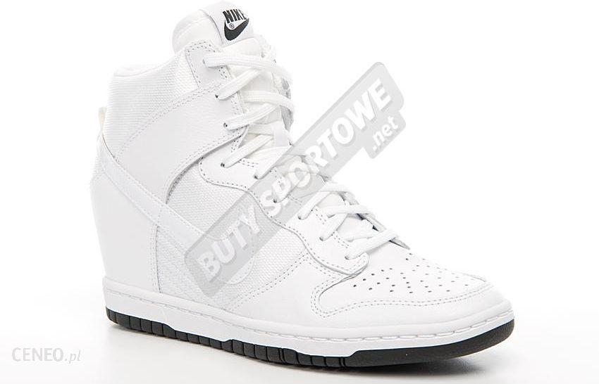 newest 891ef 601e1 Nike Buty Damskie WMNS Dunk Sky Hi Essential białe (644877-101) - zdjęcie