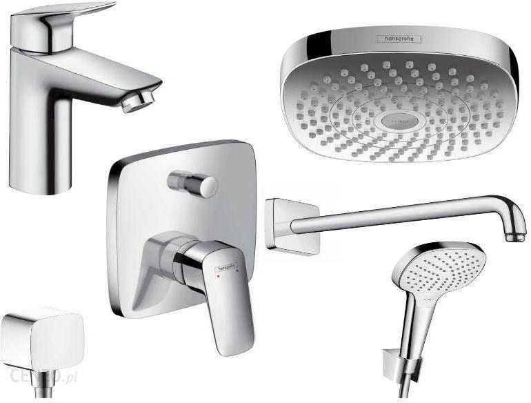 Hansgrohe. Hansgrohe Croma Shower Set M Spray Modes Chrome ...