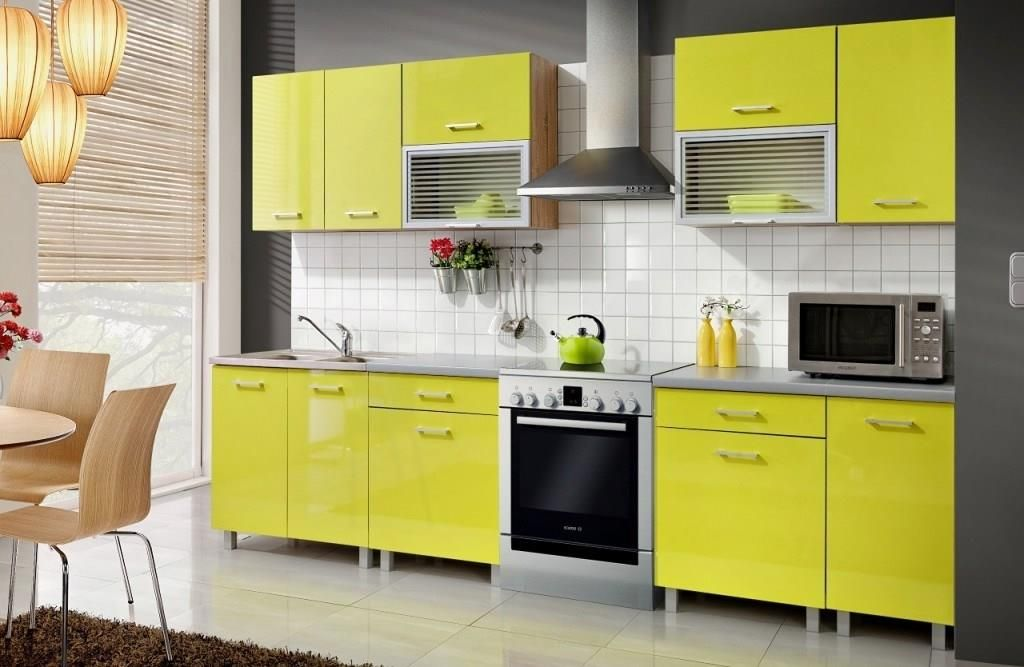 meble kuchenne w odważnej kolorystyce dla mi�ośnik243w