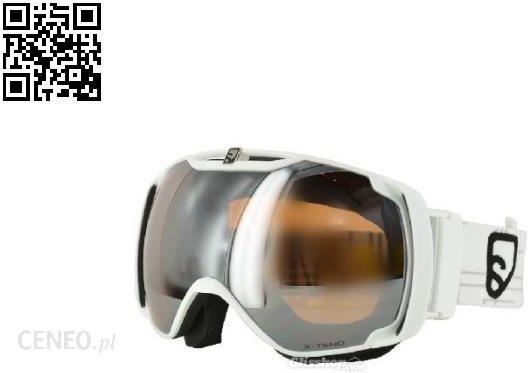 Gogle narciarskie Salomon X TEND 8 ST white lowlig