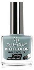 Golden Rose RICH COLOR Nail Lacquer Długotrwały 124