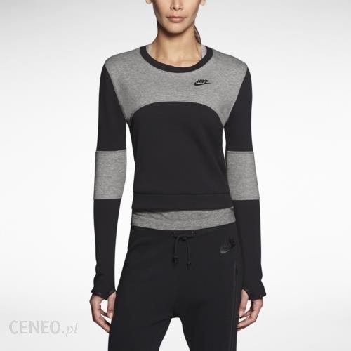 Nike Damska rozpinana bluza treningowa z dzianiny z kapturem Nike Dri FIT Get Fit Czerń Ceny i opinie Ceneo.pl