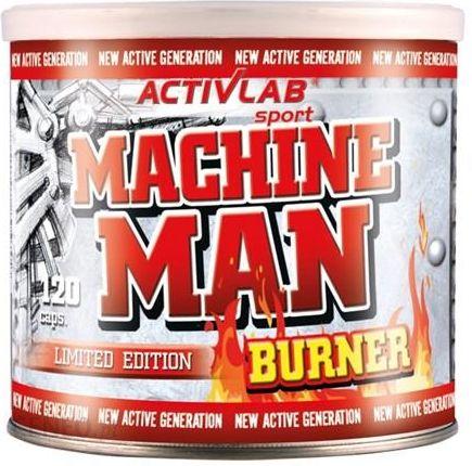3e9330a679e4 Reduktor tłuszczu Activlab Machine Man Burner-120 Kaps - Ceny i ...