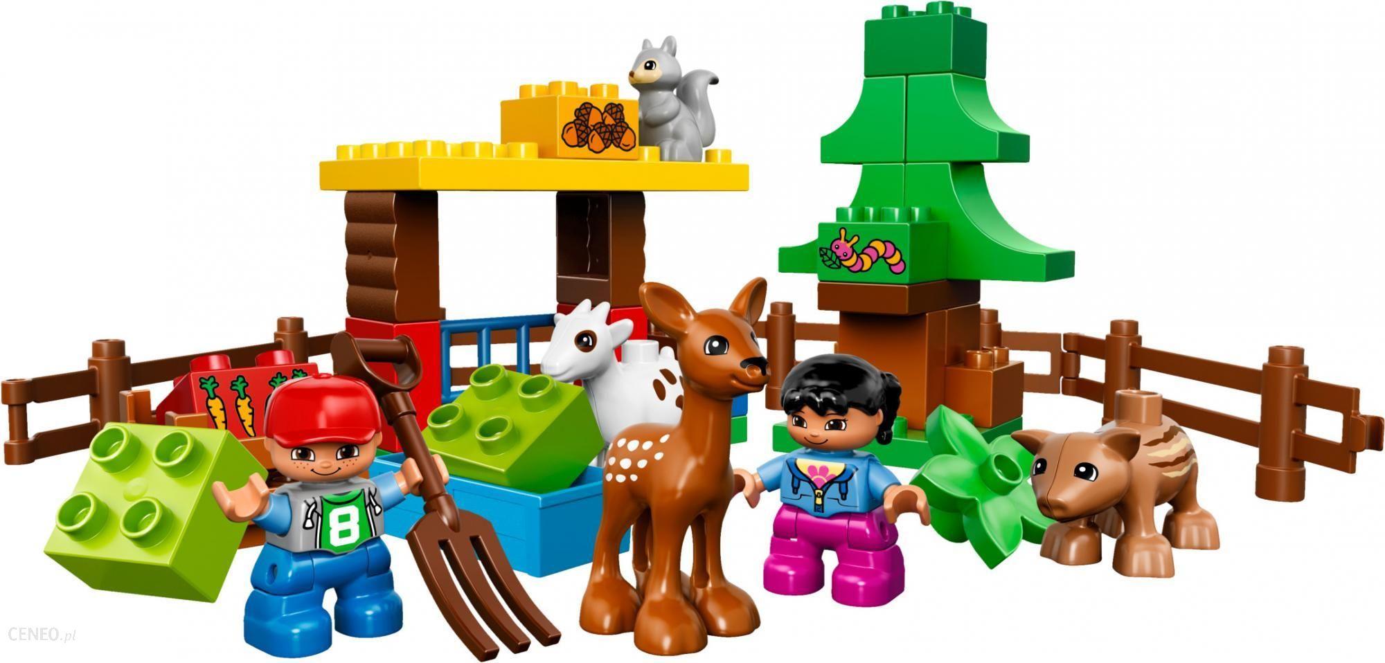 Klocki Lego Duplo Leśne Zwierzęta 10582 Ceny I Opinie Ceneopl