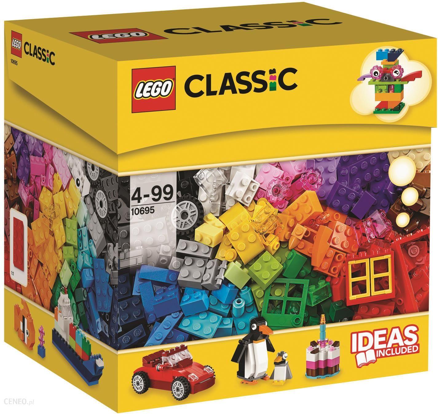 Klocki Lego Classic Kreatywny Budowniczy 10695 Ceny I Opinie