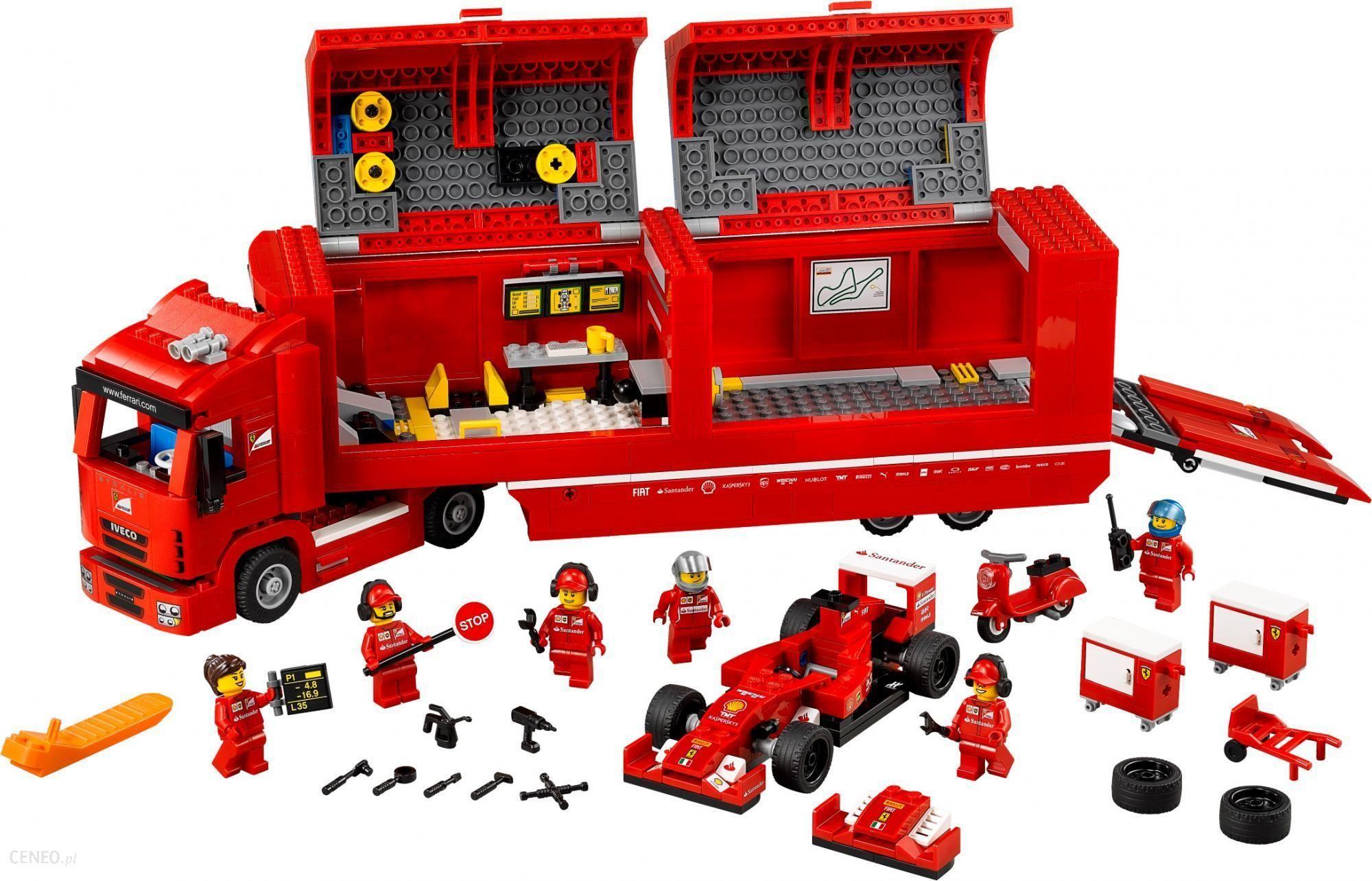 Klocki Lego Speed Champions Ciężarówka F14 T Scuderia Ferrari 75913