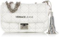 c9c0e5255f18b Versace Jeans pikowana torebka na ramię biała - Ceny i opinie - Ceneo.pl