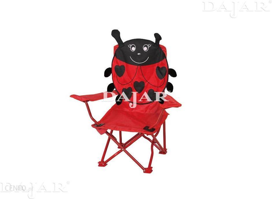 Patio Krzesełko Campingowe Czerwona Biedronka