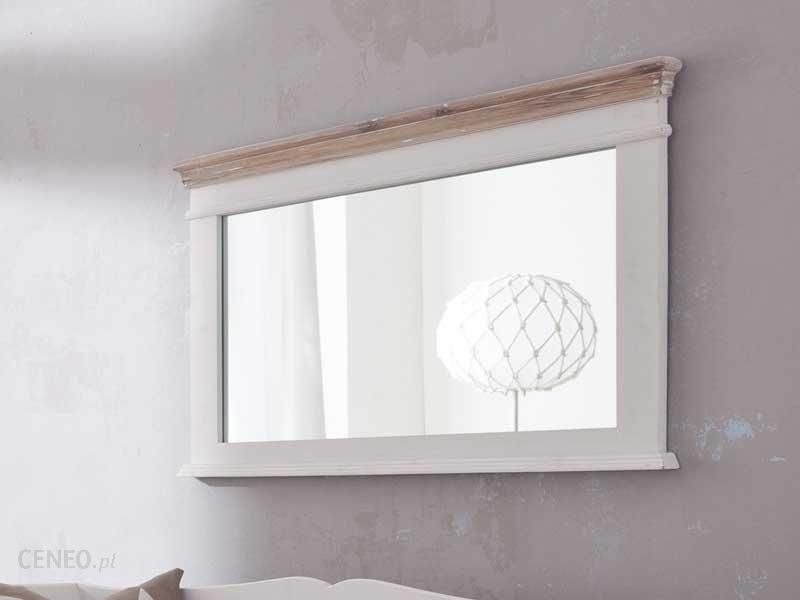 Enzo Design Lustro W Białej Drewnianej Ramie Louise Grey 1 Opinie I Atrakcyjne Ceny Na Ceneopl
