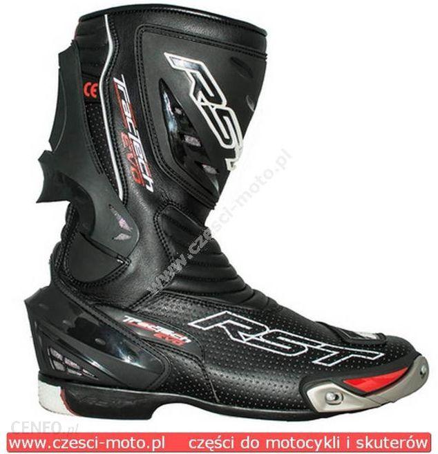 Buty motocyklowe RST Skrzane buty motocyklowe TRACTECH EVO BLACK rozm. 47 Opinie i ceny na Ceneo.pl