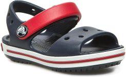 62adf33b67ca0 Sandały CROCS - Crocband Sandal Kids 12856 Navy/Red eobuwie