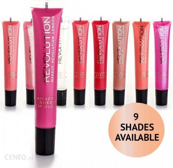 Makeup Revolution Lipgloss Błyszczyk 2ml Hush Hush - Opinie i ceny na  Ceneo pl