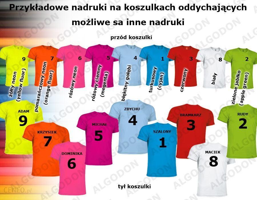 1fbd2ad0533634 Koszulki sportowe. oddychające z nadrukiem zawodnika dorosłe i dziecięce  rozmiary VALENTO - zdjęcie 1
