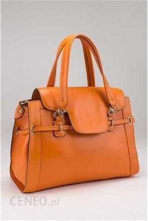 8abf290db5b2d DENI CLER MILANO torba z dwiema rączkami pomarańczowa 15731948 - zdjęcie 1